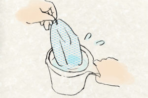 デリケートゾーンの洗い方-泡の作り方